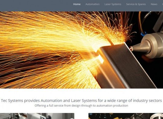 Tec Systems website live and optimised